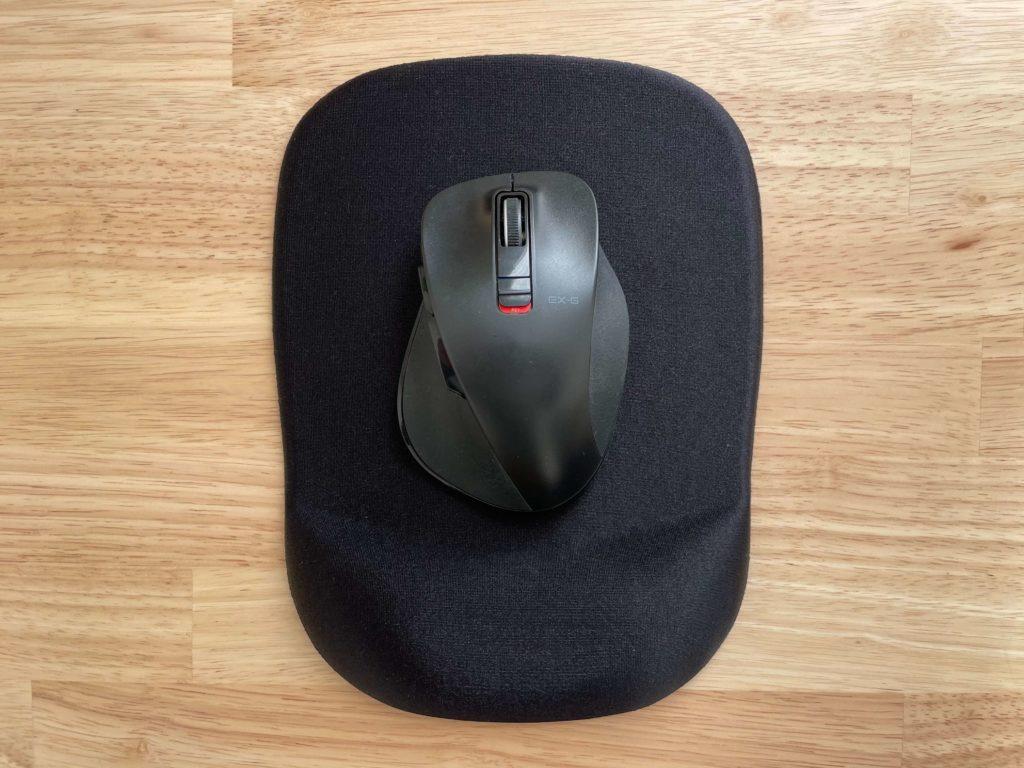 サンワサプライ 低反発リストレスト付きマウスパッド